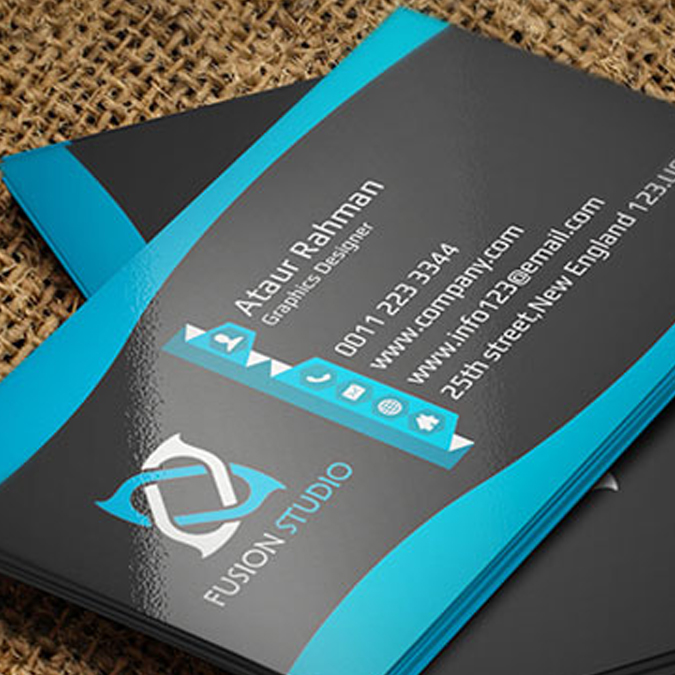 Glossy-Laminated-Business-Cards